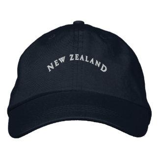 Gorra Bordada Nueva Zelanda bordó el casquillo