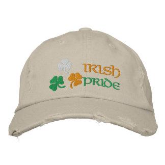 Gorra Bordada Orgullo del irlandés de los tréboles