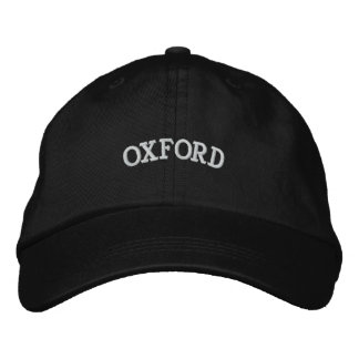 GORRA BORDADA OXFORD