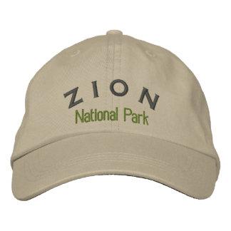 Gorra Bordada Parque nacional de Zion