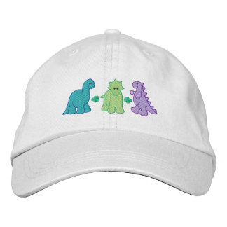 Gorra Bordada Pequeños dinosaurios