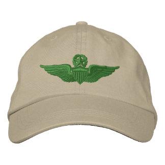 Gorra Bordada Piloto del comando del ejército