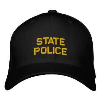 Gorra Bordada Policía del estado