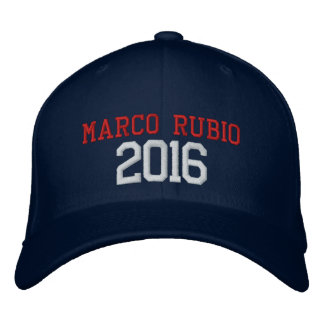 Gorra Bordada Presidente 2016 de Marco Rubio