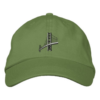 Gorra Bordada Puente Golden Gate