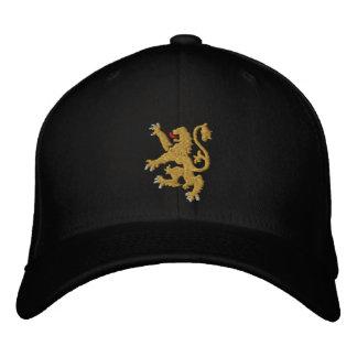 Gorra Bordada Rey bordado león de oro de reyes Cap