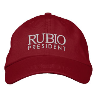 Gorra Bordada Rubio para el presidente 2016