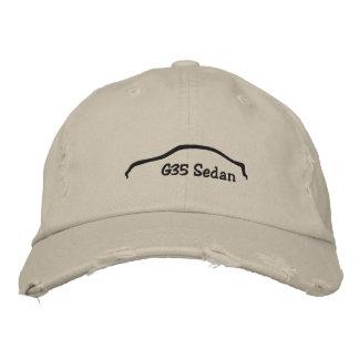 Gorra Bordada Sedán G35