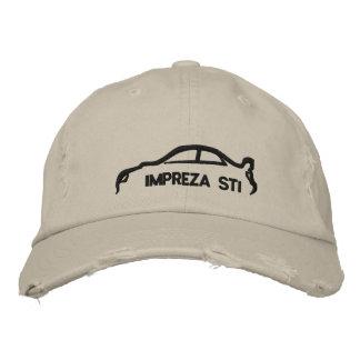 Gorra Bordada STI de Subaru Impreza