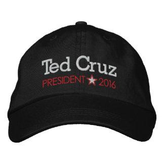 Gorra Bordada Ted Cruz para el presidente 2016