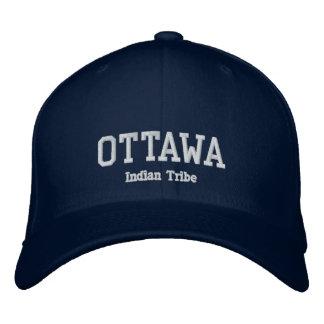 Gorra Bordada Tribu del indio de Ottawa