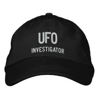 Gorra Bordada UFO, investigador
