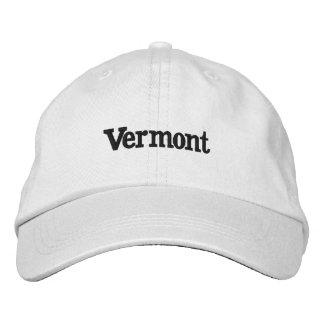 Gorra Bordada Vermont