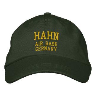 Gorra bordado AB de Hahn