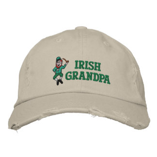 Gorra bordado abuelo irlandés