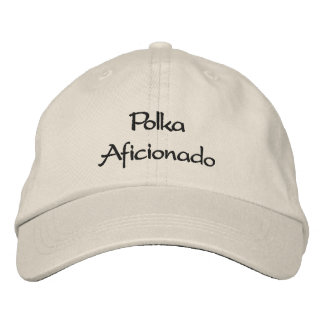 Gorra bordado aficionado de la polca gorra de beisbol bordada
