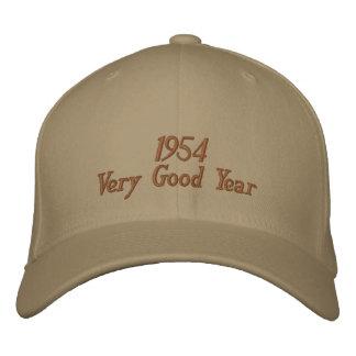 Gorra bordado año muy bueno 1954