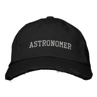 Gorra bordado astrónomo