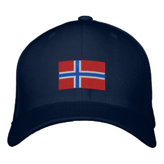 Gorra bordado bandera de las lanas del flexfit de gorra bordada
