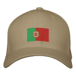 Gorra bordado bandera de las lanas del flexfit de gorra de beisbol