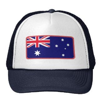Gorra bordado bandera del efecto de Australia