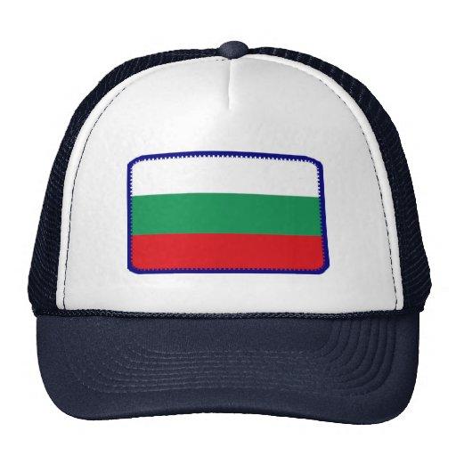 Gorra bordado bandera del efecto de Bulgaria