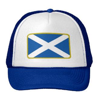 Gorra bordado bandera del efecto de Escocia