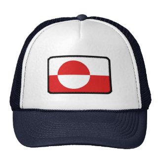 Gorra bordado bandera del efecto de Groenlandia