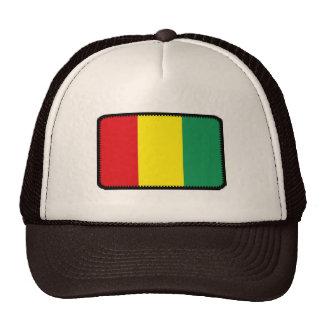 Gorra bordado bandera del efecto de Guinea