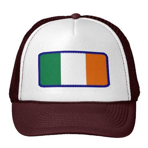 Gorra bordado bandera del efecto de Irlanda