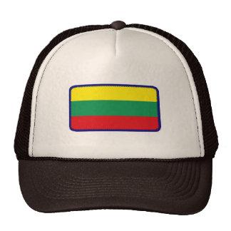 Gorra bordado bandera del efecto de Lituania