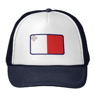 Gorra bordado bandera del efecto de Malta