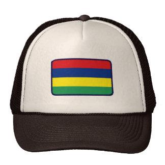 Gorra bordado bandera del efecto de Mauricio