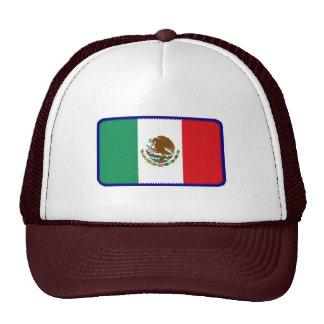 Gorra bordado bandera del efecto de México