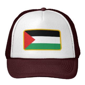 Gorra bordado bandera del efecto de Palestina