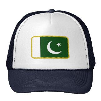 Gorra bordado bandera del efecto de Paquistán