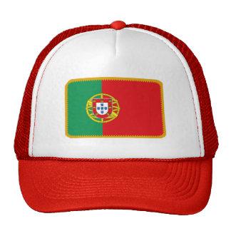 Gorra bordado bandera del efecto de Portugal
