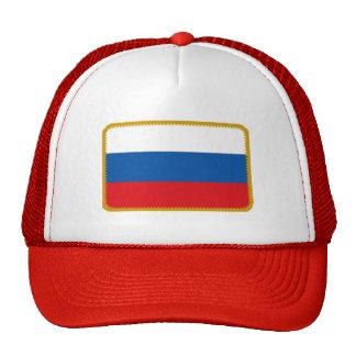 Gorra bordado bandera del efecto de Rusia