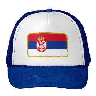 Gorra bordado bandera del efecto de Serbia