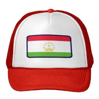 Gorra bordado bandera del efecto de Tayikistán