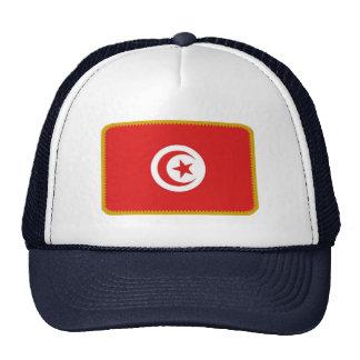Gorra bordado bandera del efecto de Túnez