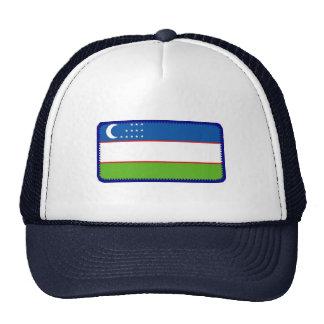 Gorra bordado bandera del efecto de Uzbekistán