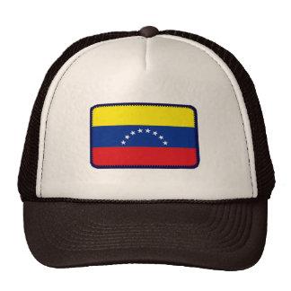Gorra bordado bandera del efecto de Venezuela