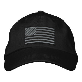 Gorra bordado bandera sometido de los E.E.U.U.