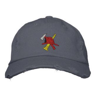 Gorra bordado bombero gorras de béisbol bordadas