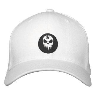 Gorra bordado cabido del cráneo gorra bordada