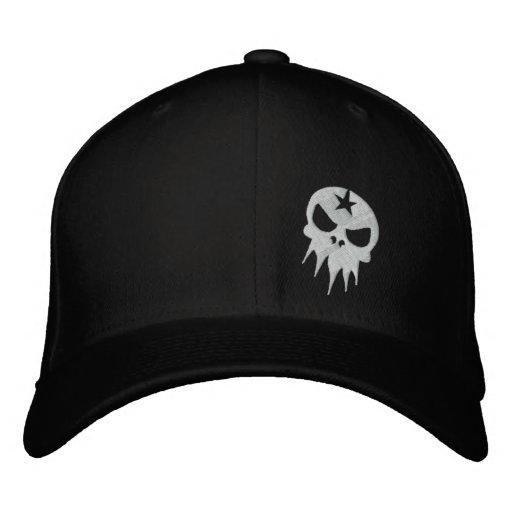Gorra bordado cabido del cráneo gorra de beisbol