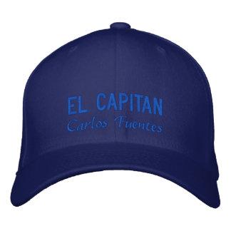 Gorra bordado Capitan personalizado del EL
