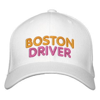 Gorra bordado conductor de Boston