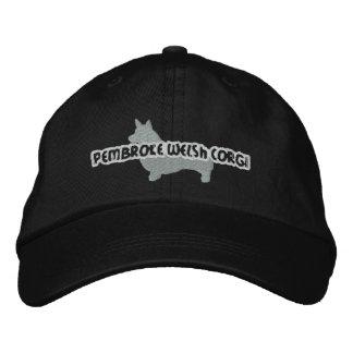 Gorra bordado Corgi Galés del Pembroke de la